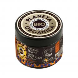 Organic Argana Body Scrub Naturalny Arganowy Peeling do Ciała 300 ml Planeta Organica
