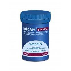 BICAPS Witamina B12 MAX 1000 mcg Hydroksykobalamina (60 kaps) ForMeds