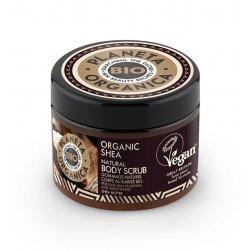Organic Shea Natural Body Scrub Naturalny Peeling do Ciała 300 ml Planeta Organica