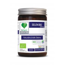 Selen BIO 100 mcg Naturalne źródło Selenu (100 tab) BeOrganic