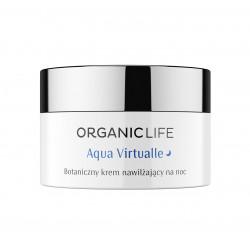 Aqua Virtualle Botaniczny Nawilżający Krem na Noc Niezapominajka 50 g Organic Life