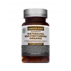 Naturalna Multiwitamina Organic Superior (30 kaps) SINGULARIS