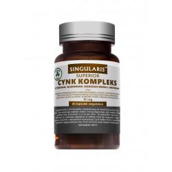 Cynk 15 mg Kompleks Superior (60 kaps) SINGULARIS
