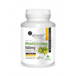 Różeniec Górski Rhodiola Rosea 500 mg Rosawiny 3% (60 kaps) Undra  Aliness