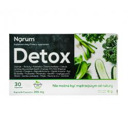 narum-detox-200-mg-30-kaps-probiotyk-lactobacillus-acidophilus-narine