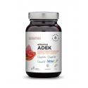 ADEK Witaminy A + D3 2000 IU + E + K2 MK-7 (90 kaps) Aura Herbals