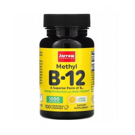Witamina B-12 Methyl 1000 mcg (100 tab do ssania) Metylokobalamina Jarrow Formulas