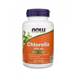 Chlorella Organic 1000 mg Organiczna (120 tab) Chlorofil Now Foods
