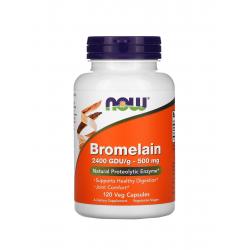 Bromelain Bromelaina 500 mg Enzymy Trawienne (120 kaps) Now Foods