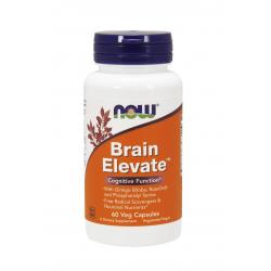 Brain Elevate Poprawa Funkcji Mózgu (60 kaps) Now Foods