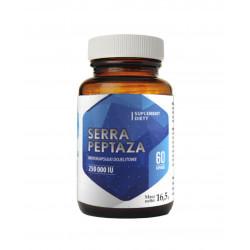 Serrapeptaza 250000 IU Mikrokapsułki dojelitowe (60 kaps) Hepatica