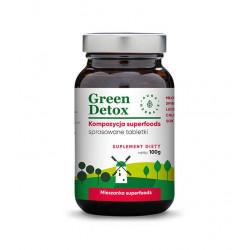 Green Detox - Kompozycja Superfoods (100 g) Aura Herbals