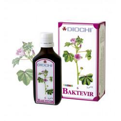 Baktevir Płyn 50 ml (harmonizuje meridian płuc, jelita grubego, śledziony) Diochi