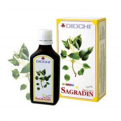 Sagradin Płyn 50 ml (harmonizuje meridian osierdzia, jelita cienkiego i grubego) Diochi
