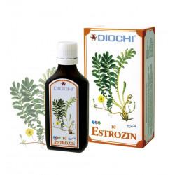 Estrozin Płyn 50 ml (harmonizuje meridian poczęcia, śledziony, żołądka, płuc, trzech ogrzewaczy) Diochi