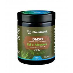 Żel DMSO 70% z Aloesem Meksykańskim 190 ml ChemWorld