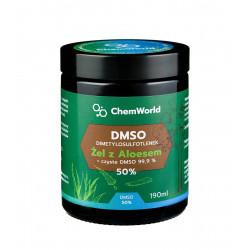 Żel DMSO 50% z Aloesem Meksykańskim 190 ml Chemworld