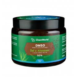 Żel DMSO 50% z Aloesem Meksykańskim 500 ml ChemWorld
