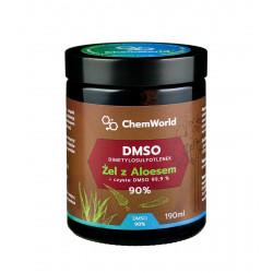 Żel DMSO 90% z Aloesem Meksykańskim 190 ml ChemWorld