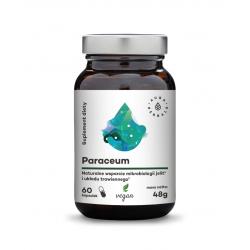 Paraceum Naturalne Wsparcie Mikroflory Jelit i Układu Trawiennego (60 vege kaps) Aura Herbals