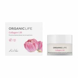 Collagen Lift Przeciwzmarszczkowe Serum pod Oczy Kwiat Lotosu 30 g Organic Life
