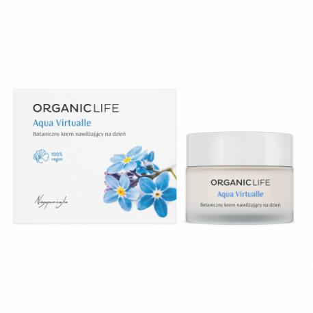 Aqua Virtualle Botaniczny Nawilżający Krem na Dzień Niezapominajka 50 g Organic Life