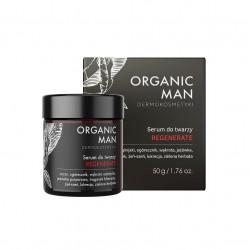 Organic Man Serum Regenerujące do Twarzy REGENERATE 50 g dla Mężczyzn Organic Life