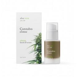 Wyciszające Serum Olejowe z Aloesem i Olejkiem CBD 15 g Cannabis Clinic Organic Life