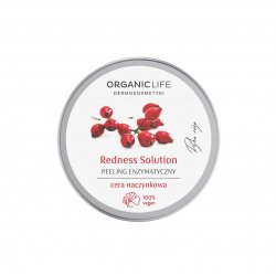 Peeling Enzymatyczny do Cery Naczynkowej 100 g Redness Solution Organic Life