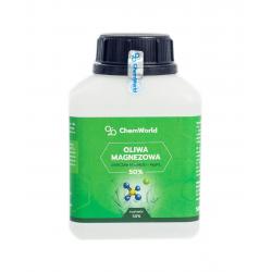 Oliwa Magnezowa 50% Siarczan Magnezu Sól Epsom Gorzka 500 ml ChemWorld