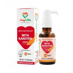 Beta Karoten Forte 30 ml w płynie krople MyVita