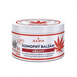 Rozgrzewający Balsam Konopny (rozluźnienie mięśni) 250 ml Alpa
