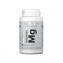 Nr 1 Magnesium Mg Taurynian Magnezu (60 kaps) Lab One