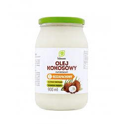 Olej Kokosowy Rafinowany Bezzapachowy 900 ml INTENSON