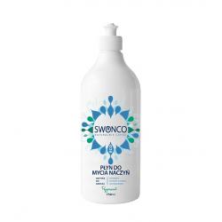 Płyn do mycia Naczyń Peppermint Miętowy Ekologiczny 750 ml SWONCO
