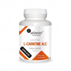 Acetyl L-carnitine ALC L-karnityna 500 mg (100 kaps) Aminokwasy Aliness