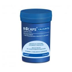 BICAPS Calcium + Witamina D3 z porostów 2000 IU Vege (60 kaps) ForMeds