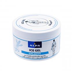 Chłodzący Żel do masażu rozluźniającego Przeciwbólowy z Mentolem i Kamforą 250 ml Alpa