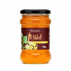 Miód Naturalny Lipowy 400 g Skoczylas