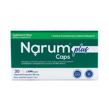 Narimax Plus 150 mg (30 kaps) Probiotyk Lactobacillus Acidophilus Narine Narum