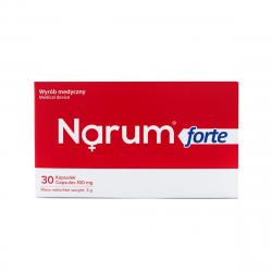 Narimax Forte 100 mg (30 kaps) Probiotyk Lactobacillus Acidophilus Narine