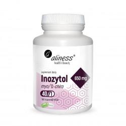 Inozytol myo/D-chiro 40/1 650 mg - Płodność kobiet (100 kaps) Aliness