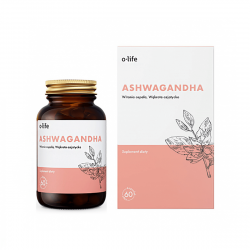 Ashwagandha + Wąkrota azjatycka Gotu Kola (60 kaps) Organic Life