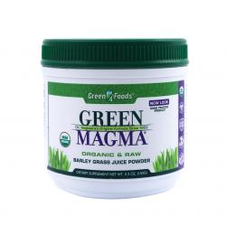 Green Magma BIO 150 g Sok z Młodego Jęczmienia Green Foods