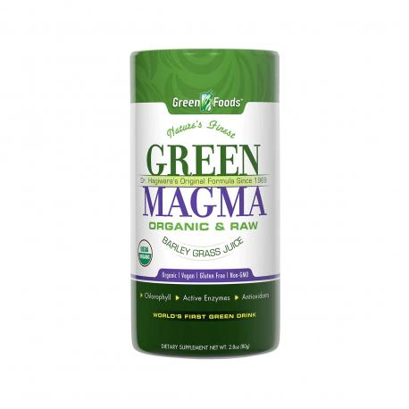 Green Magma BIO 80 g Sok z Młodego Jęczmienia Green Foods