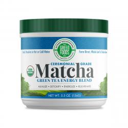 BIO Matcha Green Tea Zielona Herbata 156 g USA Green Foods