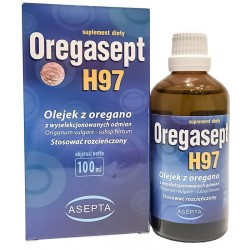 Oregasept H97 100ml Olejek z Oregano ASEPTA