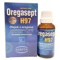 Oregasept H97 30ml Olejek z Oregano ASEPTA