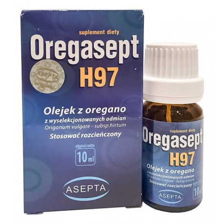 Oregasept H97 10ml Olejek z Oregano ASEPTA