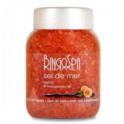 Sól do kąpieli brzoskwiniowa z olejem makadamia 1350g BingoSpa